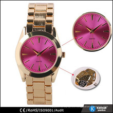 Caja de la aleación de la fábrica del reloj de guangzhou