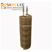 Химический погружной металлический трубчатый теплообменник