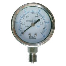 Steel Barrel Pressure Gauge