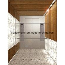 Пассажирский лифт с волосами из нержавеющей сталиJ-N025)