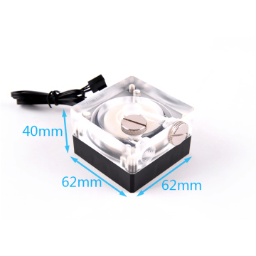 Liquid Cooling DC 12V Mini bomba de agua sin escobillas