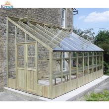 Steel Houses Kits Garden Aluminium Frame Glass House