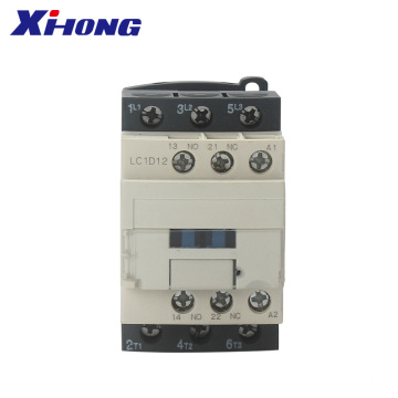 CE Certified 3pole 12A LC1D12 Electrical AC Contactor