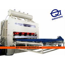 Spanplatten / Spanplatten-Melamin-Pressmaschine