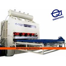 Panneau de particules / aggloméré machine à presser la mélamine