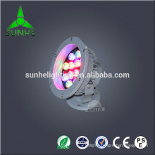 OEM service swimming pool RGB colors pool light IP65 Silver Stainless Steel Pool Lights