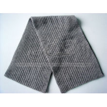 Winter 2 * 2 Rib Knitting cachemira chapéu e lenço
