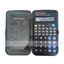 56 Funktion 10-stelliger wissenschaftlicher Taschenrechner mit Frontabdeckung (LC709A)