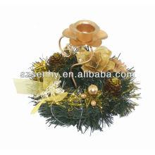 2016 decorações artificiais de grinaldas de natal por atacado
