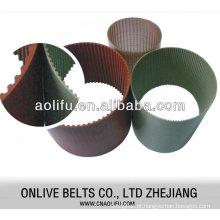 Cinto de equipamento PU Timing Belts transmissão correias industriais