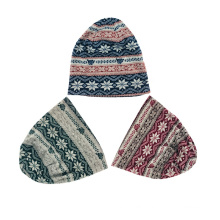 Low Price Wholesale Outdoor Winter Custom Logo Keep Warm Polyester Sports Beanie