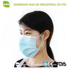 Máscara facial não tecida mais barata criada na China 2016 CE ISO FDA