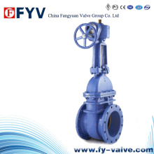 API 6D Rising Stem Wcb Slab Gate Valve