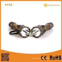 1173 Nouveau Xm-L T6 LED Aluminium Haute puissance Longue gamme 18650 Li-ion Battery Hunting Torch Light