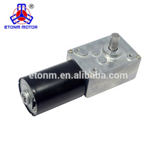 Small Backlash ET - WGM58BL used for Electric Valve 12V DC worm gear motor
