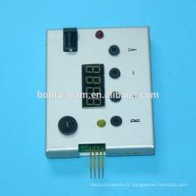 Réservoir de puce de tête d'impression pour HP 88 C9381 C9382 K550 K5300 K5400 L7380 L7680 puce de tête d'impression resetter