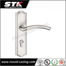 Zinc Alloy Door Lock Handle with Plating (STK-ZDL0014)