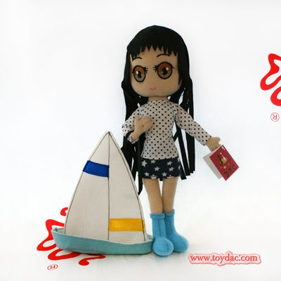 sailing boat doll