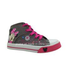 Zapatos de los niños de dibujos animados de moda Sneaker (X166-S & B)