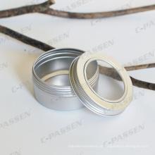 Lata de alumínio de 80g para a embalagem do presente