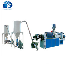 High quality plastic pvc cable granulation machine production line