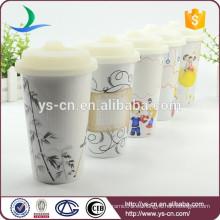 FDA aprobó doble taza de cerámica de pared con tapa de silicona