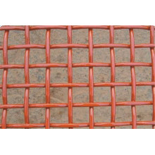 Maille métallique à maille rétréciée en PVC / maille à sertir