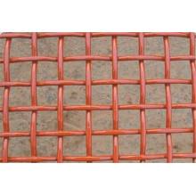 Rede de arame frisada revestida PVC / rede de arame frisada