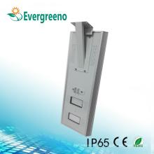 Luz de calle solar con regulador automático