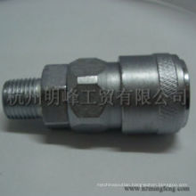 SM20 Nitto type Steel Blasting Chrome-plated automatic Quick Coupler for Asia market