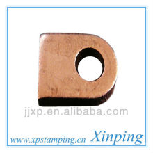 OEM shinny nickel coated precision hardware connector wire terminal