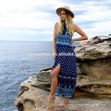 Bohemian Kleid Großhandel Sommer Strand Kleid 2017 Frauen Kleidung