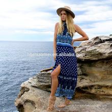 Vestido boêmio atacado verão praia vestido 2017 roupas femininas