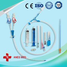Double Lume hemodialysis catheter kits