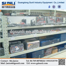 Guangdong fornecedor dever médio Rack de chapa de aço para boa exibição