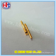 Electrical Brass/Copper Solid Plug Pin From Direct Manufacturer (HS-DZ-0047)