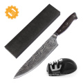 2018 knife manufacturers handmade damascus kitchen knife
