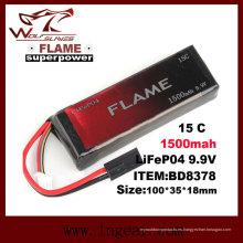 15C 1000mAh de llama 9.9V LFP LiFePO4 batería para caja Peq-15