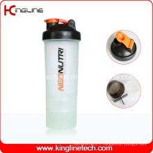 Réchauffeur de mélange de plastique 600ml avec compartiment 2 (KL-7029)