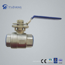 Stainless Steel Ball Valve with Mountaining Pad