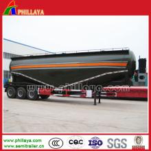 Tri-Axles Ciment Bulker pour semi-remorque