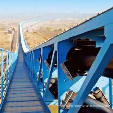 Ske Long-Distance Curved Belt Conveyor for Mining