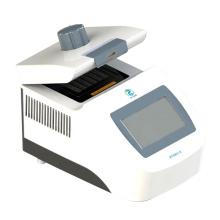 Máquina termocicladora de PCR de laboratorio con pantalla de 7 pulgadas