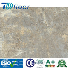 Piso de vinilo de PVC de patrón de piedra