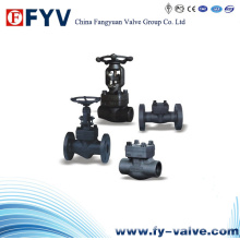 API 602 Flanged Forged Steel Gate Globe, Check Valve