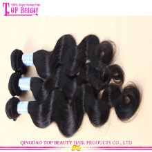 Qingdao wholesale cheap natural russian hair 100% unprocessed virgin human russian hair