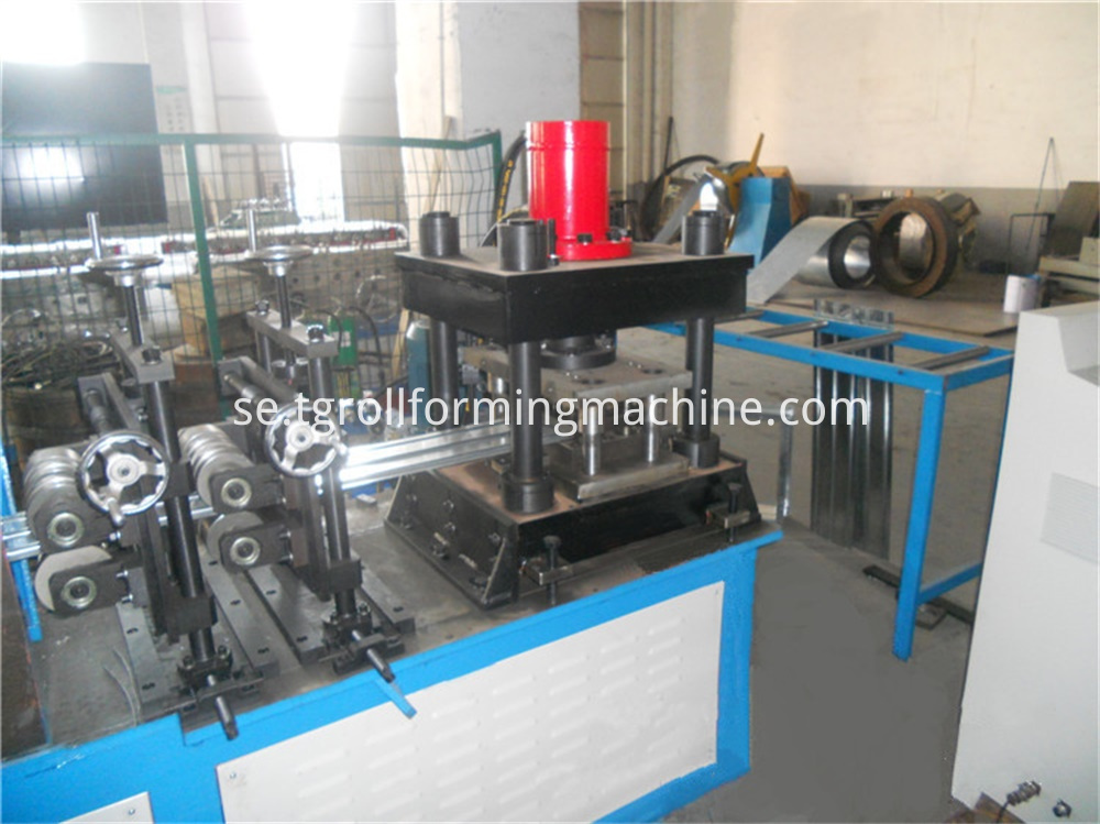 Fire Damper Plate Roll Forming Machine
