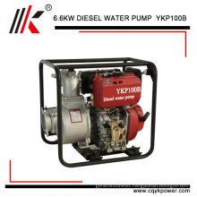 Hot sale 6.6kw 4inch/100mm Outlet/inlwt diameter diesel water pump kenya