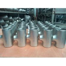 T de montagem forjada DIN Sch160 / Xxs (F304, F310H, F316)