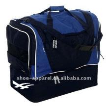 bolsa de lona con compartimento para zapatos